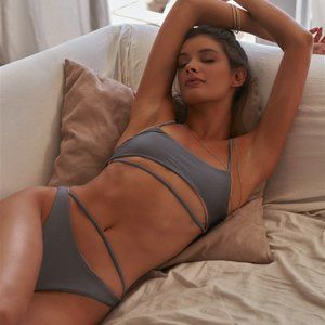Gray Trendy Bikini
